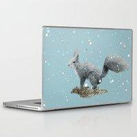 squirrel Laptop & iPad Skins featuring SQuirrel by Monika Strigel