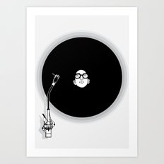 music now Art Print