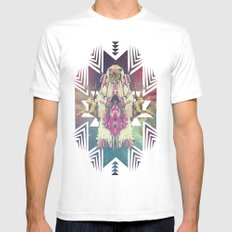 Tiger Chaman  Mens Fitted Tee White SMALL