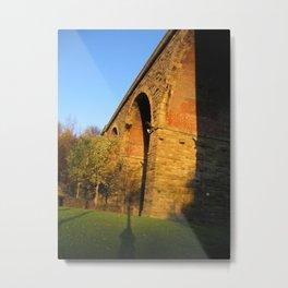 Railway Arch Metal Print
