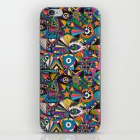 circus iPhone & iPod Skins featuring Circus by Naia Ceschin