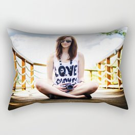 girl Rectangular Pillow