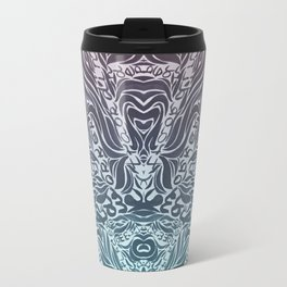 Soft Lines(P&B) Travel Mug