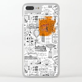 Looking Back to the Future Clear iPhone Case