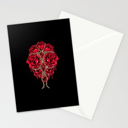 BOUND ROSES Stationery Cards