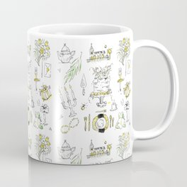Golden Wedding Tori Beth Coffee Mug