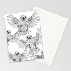 Chicks of prey (belligerant and unconquered) Stationery Cards