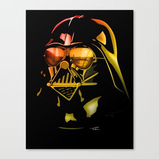 STAR WARS Darth Vader on black Canvas Print