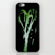 Smeared Romance iPhone Skin
