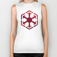 sith Biker Tanks featuring Star Wars Sith Empire by foreverwars