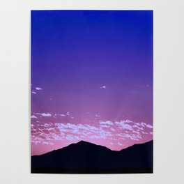 SW Mountain Sunrise - I Poster