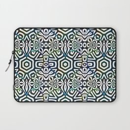 Love in the Black and White Structures Laptop Sleeve