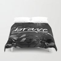 brave Duvet Covers featuring Brave by eleahramos