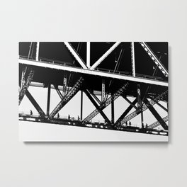 The Walk Metal Print