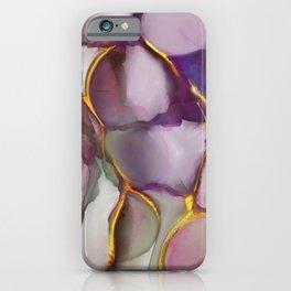 Maven - Plum, Raisin & Gold iPhone Case