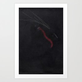 Krampus I Art Print