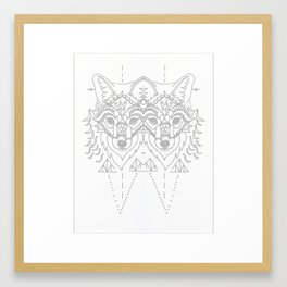White Sacrifice Framed Art Print
