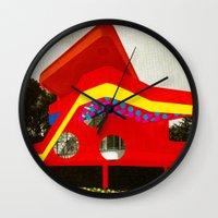 bauhaus Wall Clocks featuring BauHaus 1 by Marko Köppe