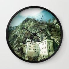 Majestic Predjama Castle Wall Clock
