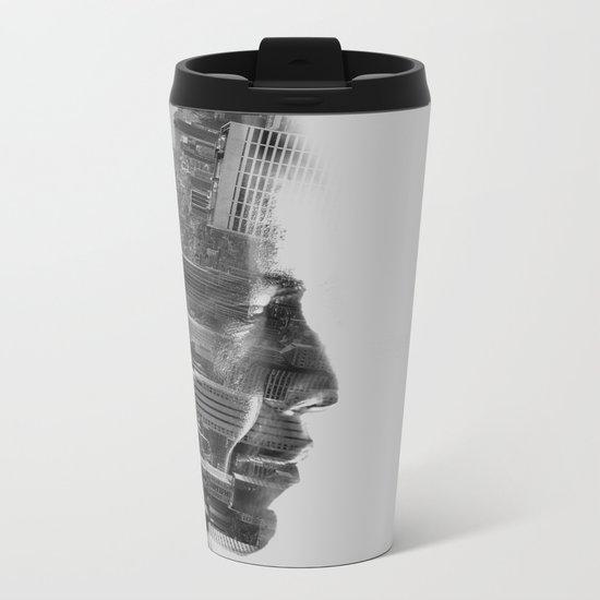 Vision mono Metal Travel Mug