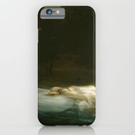 Paul Delaroche - The Young Martyr iPhone Case