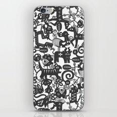 paper zodiac graphite iPhone & iPod Skin