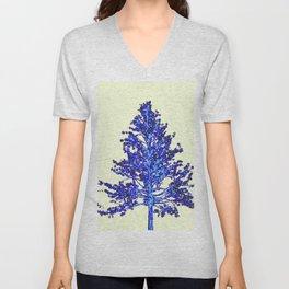 BLUE MOUNTAIN TREE ART Unisex V-Neck