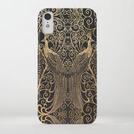 ART DECO PEACOCKS iPhone Case