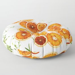 Pure Citrus (Color) Floor Pillow