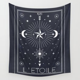 L'Etoile or The Star Tarot Wall Tapestry