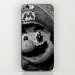 Plumber King Mario iPhone Skin