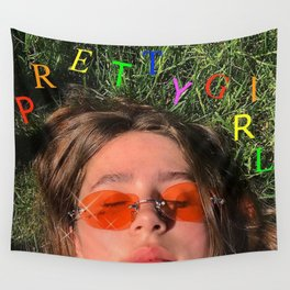 Clairo pretty girl album Wall Tapestry