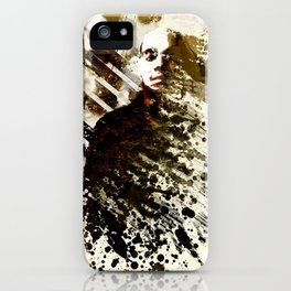 Splatter-Portrait iPhone Case