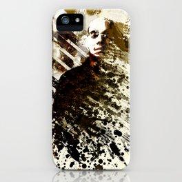 Splatter-Portrait iPhone Case