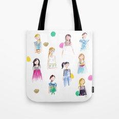 Mermaid girl beach towel Tote Bag