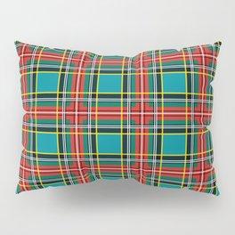 Minimalist Macbeth Tartan Ancient Pillow Sham