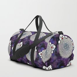 Fly with the dandelion Duffle Bag