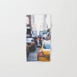 TAXI - CAB - CITY - CARS - PHOTOGRAPHY Hand & Bath Towel