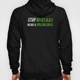 Stay At Home Engineers And Wear A Mask For Coding IT Code Hoody