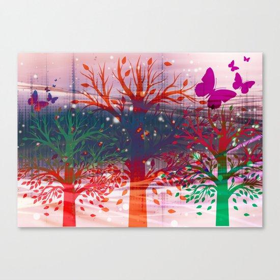 Butterfly Fields  Canvas Print