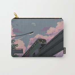 Moonrise Train Carry-All Pouch