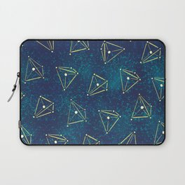 Tetrahedral Molecular Geometry Constellation Art Laptop Sleeve