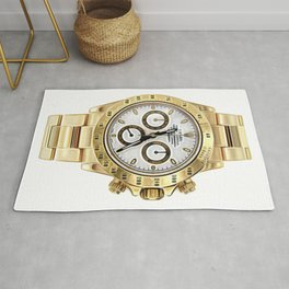 Mother Of Pearl Daytona | 18K Yellow Gold | 40 Mm Rug