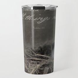 New Beginings~ nest Travel Mug