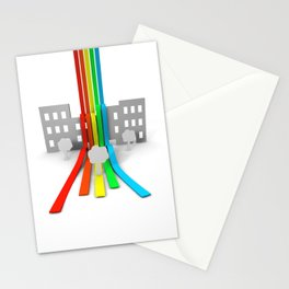 Spectrum in Town Stationery Cards