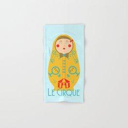 Le Cirque Hand & Bath Towel