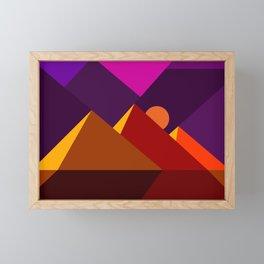 Road to Giza Framed Mini Art Print