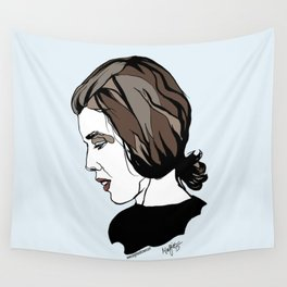 Delia Derbyshire Composer Cambridge Oxford England UK Wall Art Artist Musician Electronic  Wall Tapestry