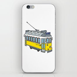 Lisbon Tram iPhone Skin