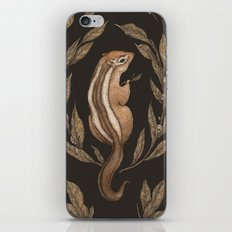 The Chipmunk and Bay Laurel iPhone & iPod Skin
